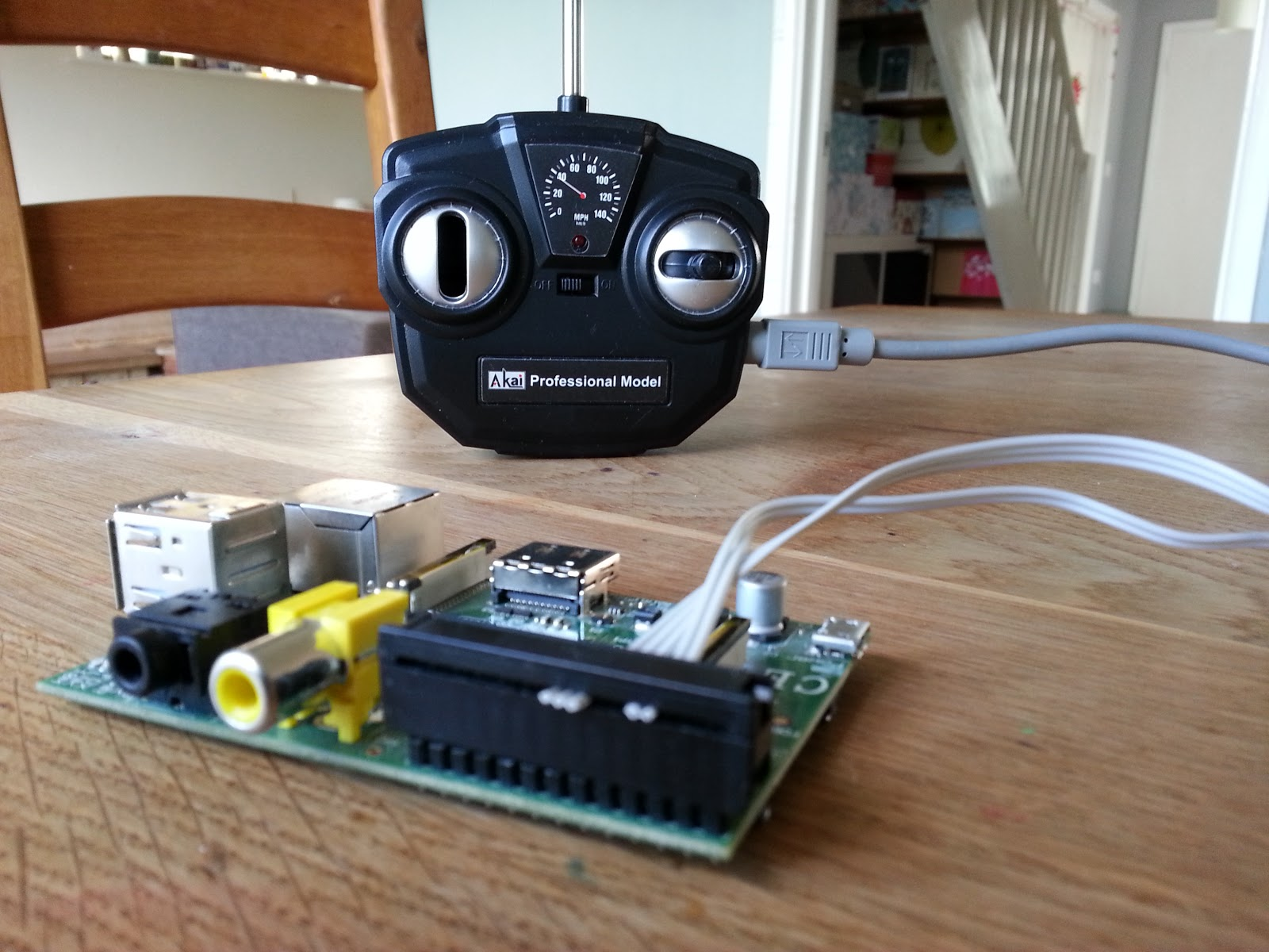 Pi Cars Control Your Radio Controlled Through Raspberry Electronics Project How To Make A Remote Car