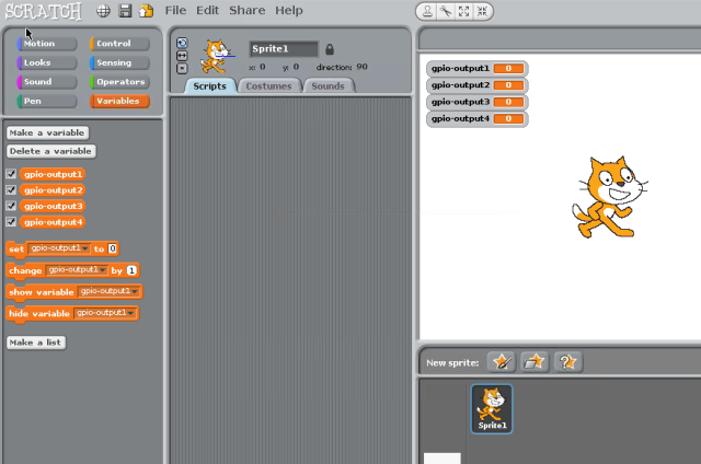 GPIO variables in Scratch
