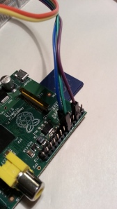 Connect green to GPIO pin 12