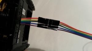 Connecting all leads to controller cables