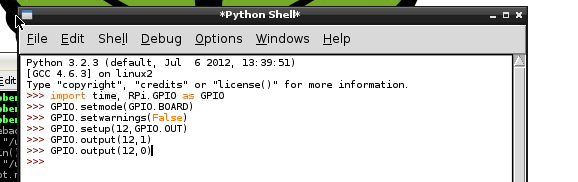 how to run a python program in python shell