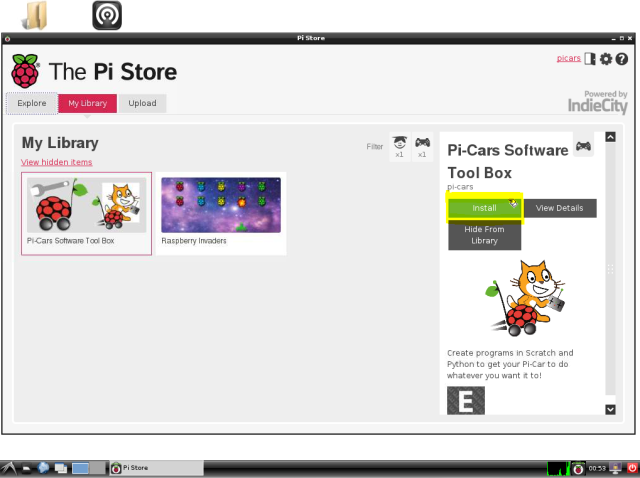 Install from Pi Store