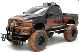 New Bright Ram HEMI, Mud Slingers, 1_6 Scale